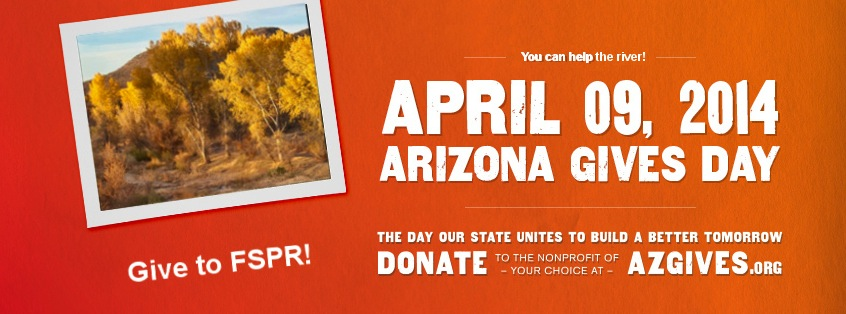 Give to FSPR on AZ Gives Day!
