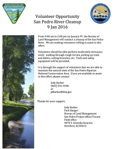SPRNCA river cleanup_09Jan2016