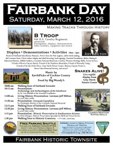 2016 Fairbank Day Flyer